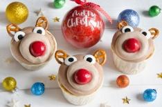 Cupcakes têtes de rennes