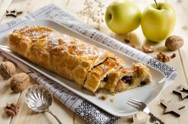 apfelstrudel, dessert aux pommes