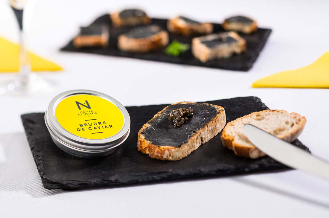 Tartine de beurre de Caviar