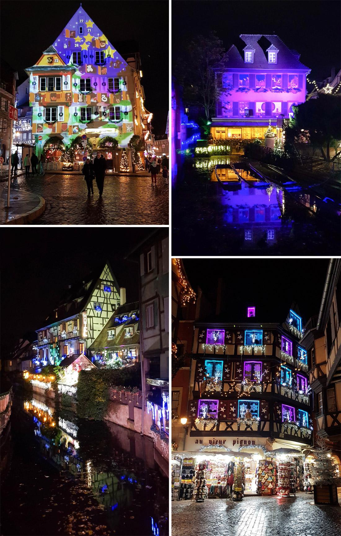 Le centre de ville de Colmar en décembre