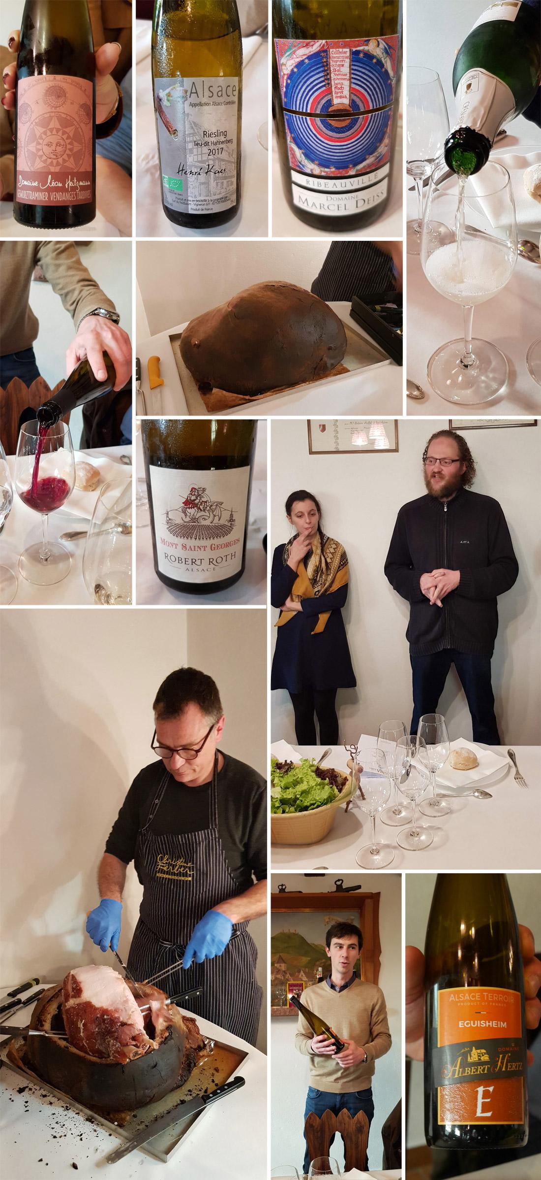 Déjeuner jeunes vignerons en Alsace 2019