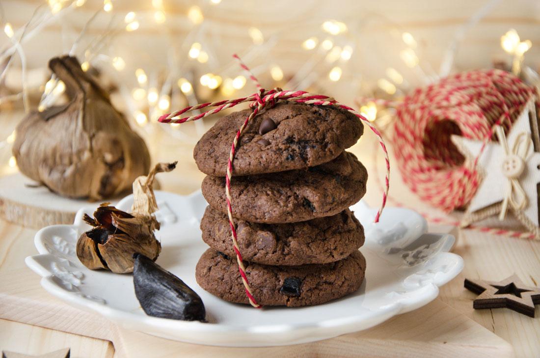 recette cookies chocolat ail noir maison