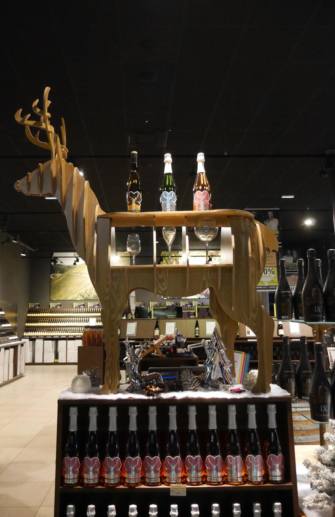 Boutique Wolfberger à Eguisheim