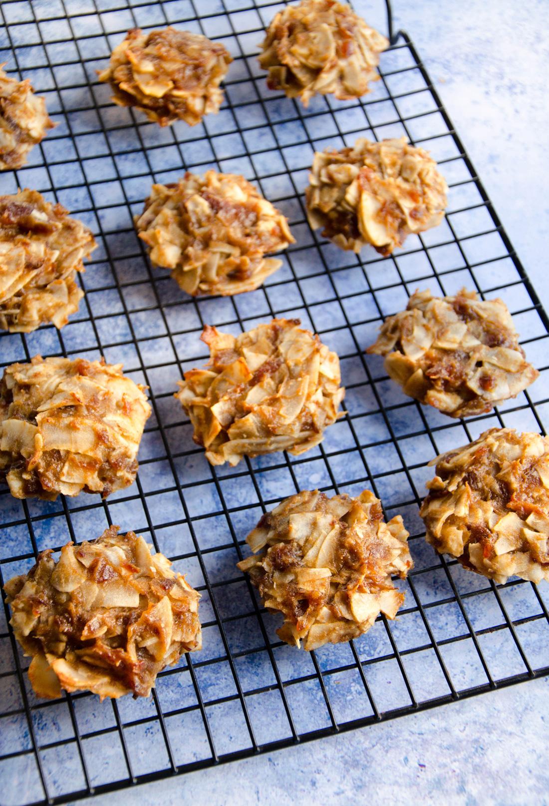 Cookies banane et dattes à la noix de coco