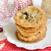 Recette de cookies chocolat blanc cranberries