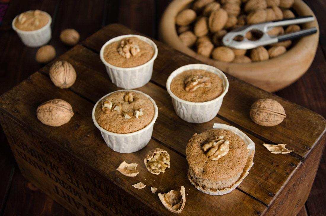 Muffins aux noix fait maison
