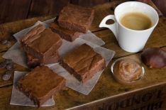 Recette de brownie chocolat marrons fait maison