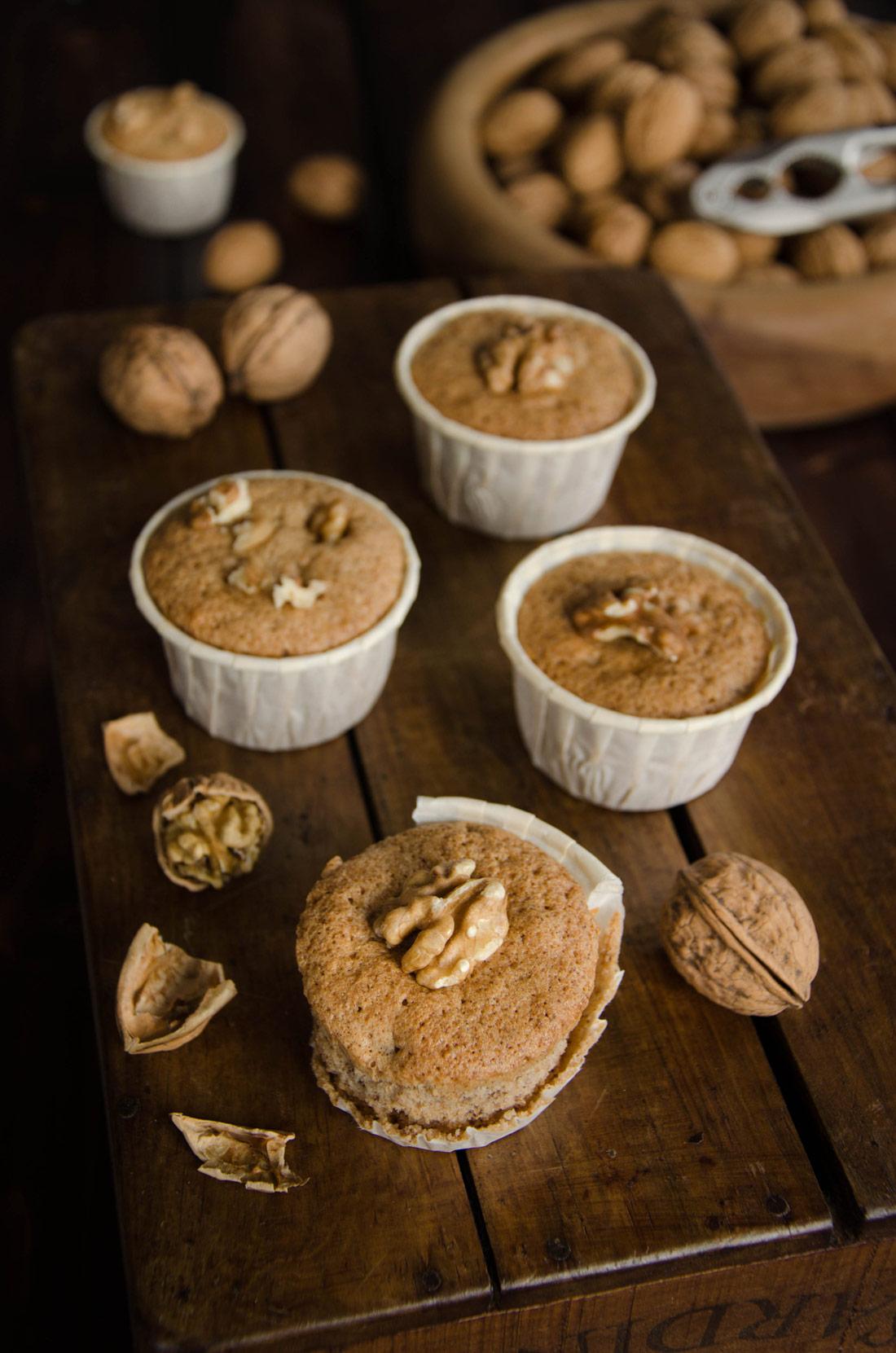 Délicieuses recette de muffins aux noix fait maison