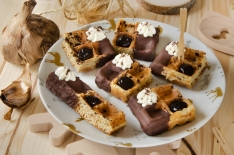 Recette turbigo gaufre chocolat ail noir