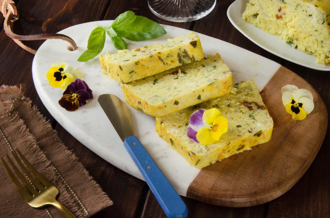 Recette pain chou-fleur curcuma tomates confites