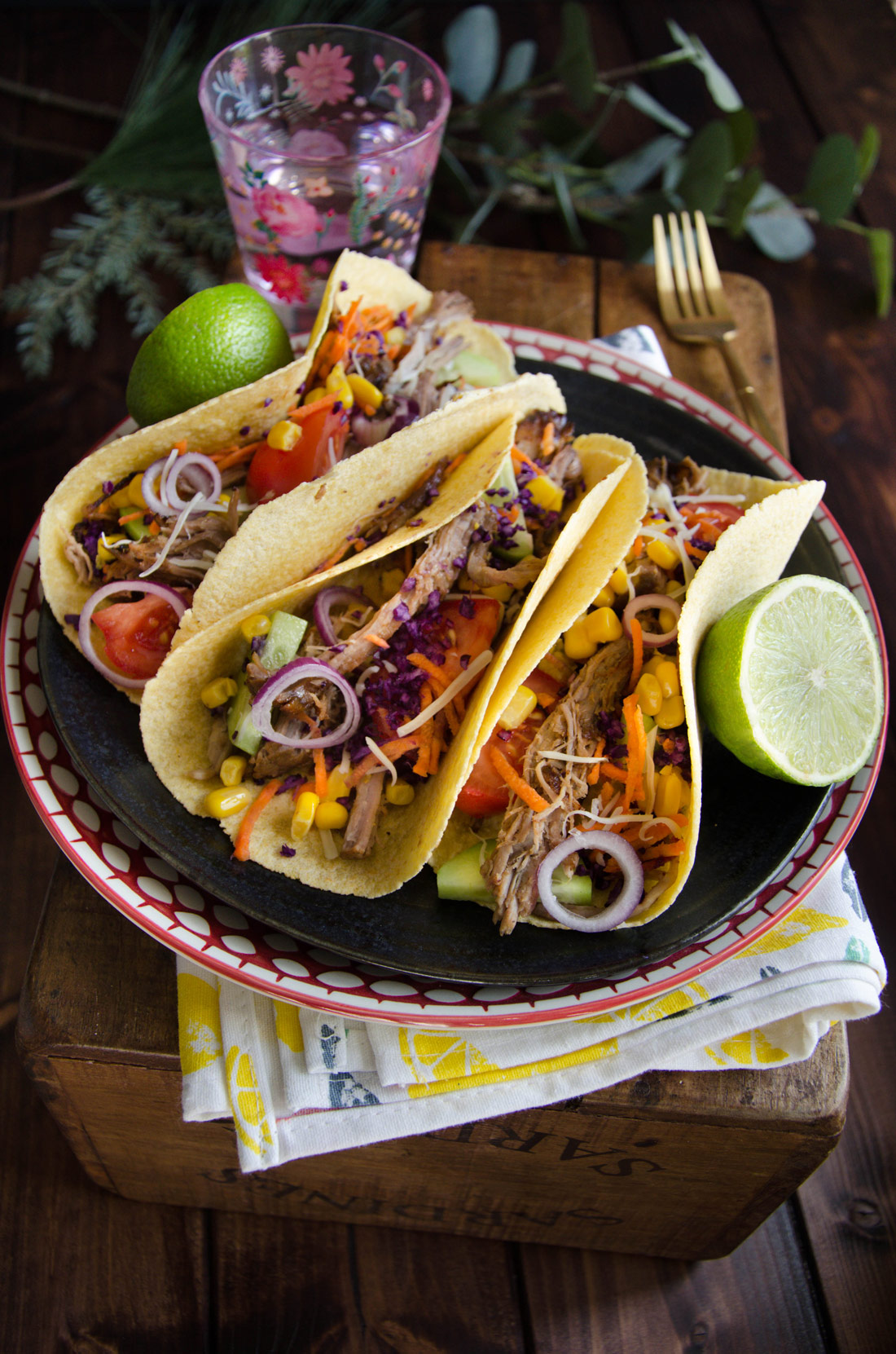 Recette tacos porc effiloché