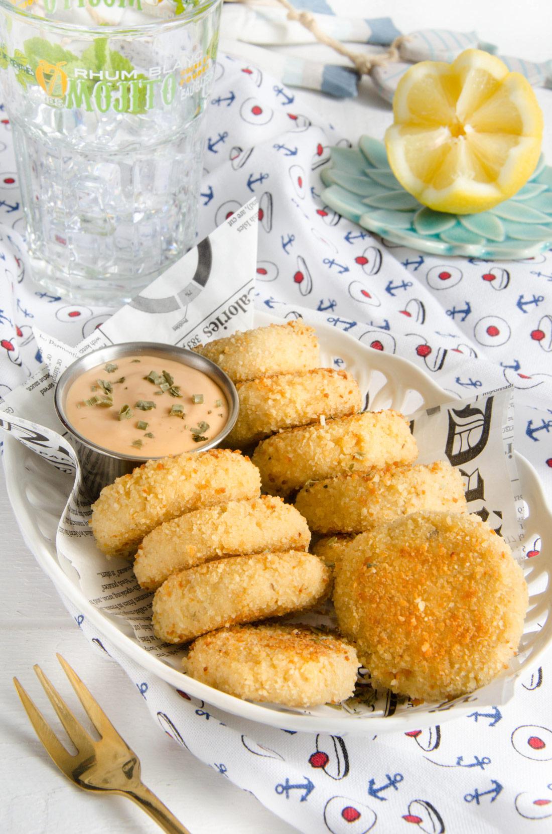 Recette de crab cakes fait maison faciles et délicieux