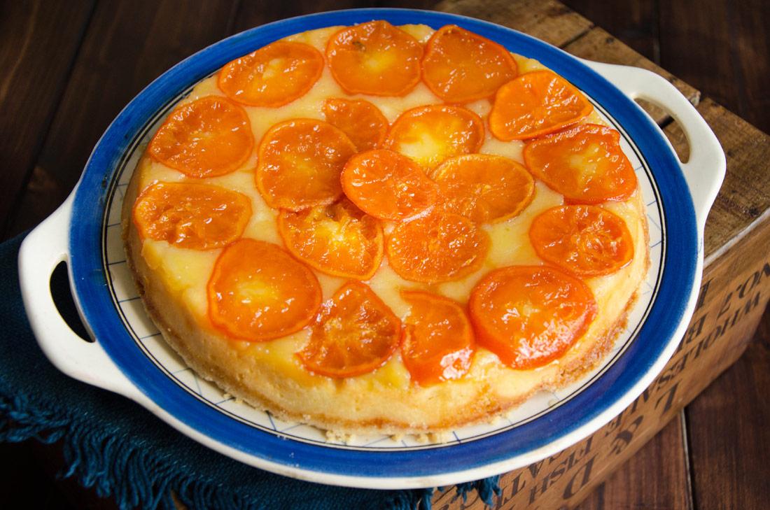 Recette de gâteau fondant ricotta clémentines