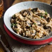 Recette maison risotto sarrasin champignons