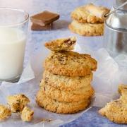 Recette de cookies aux flocons avoine pépites chocolat au lait