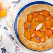 Recette de tarte rustique abricots calissons