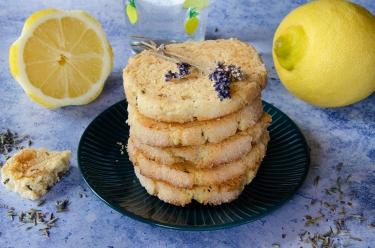 Recette de sablés citron lavande et amandes maison