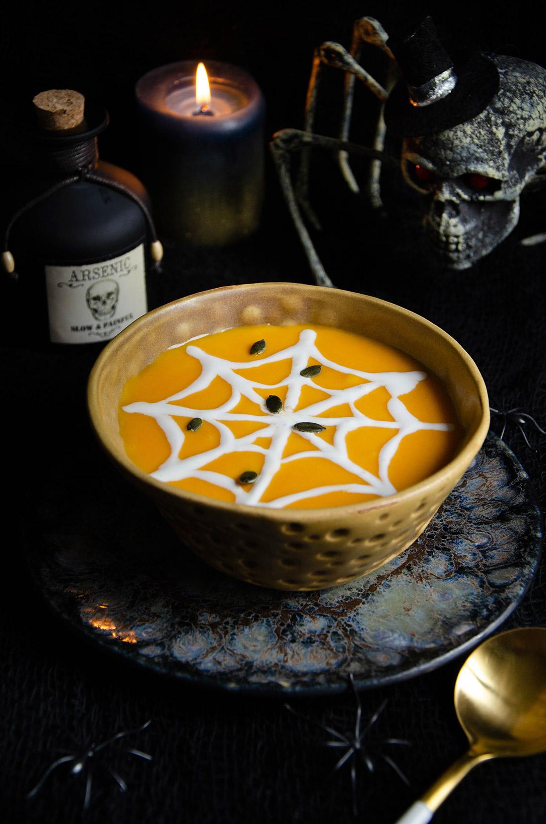 Recette pour Halloween : soupe butternut lait de coco