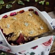 recette maison de crumble aux figues