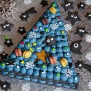 Recette de gâteau Chapeau de sorcière façon number cake