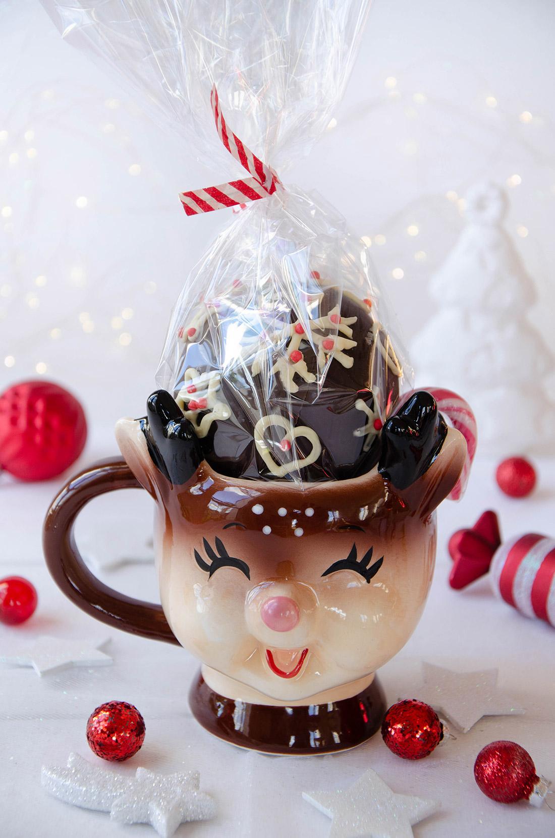 Recette de cadeau gourmand maison : hot chocolate bomb