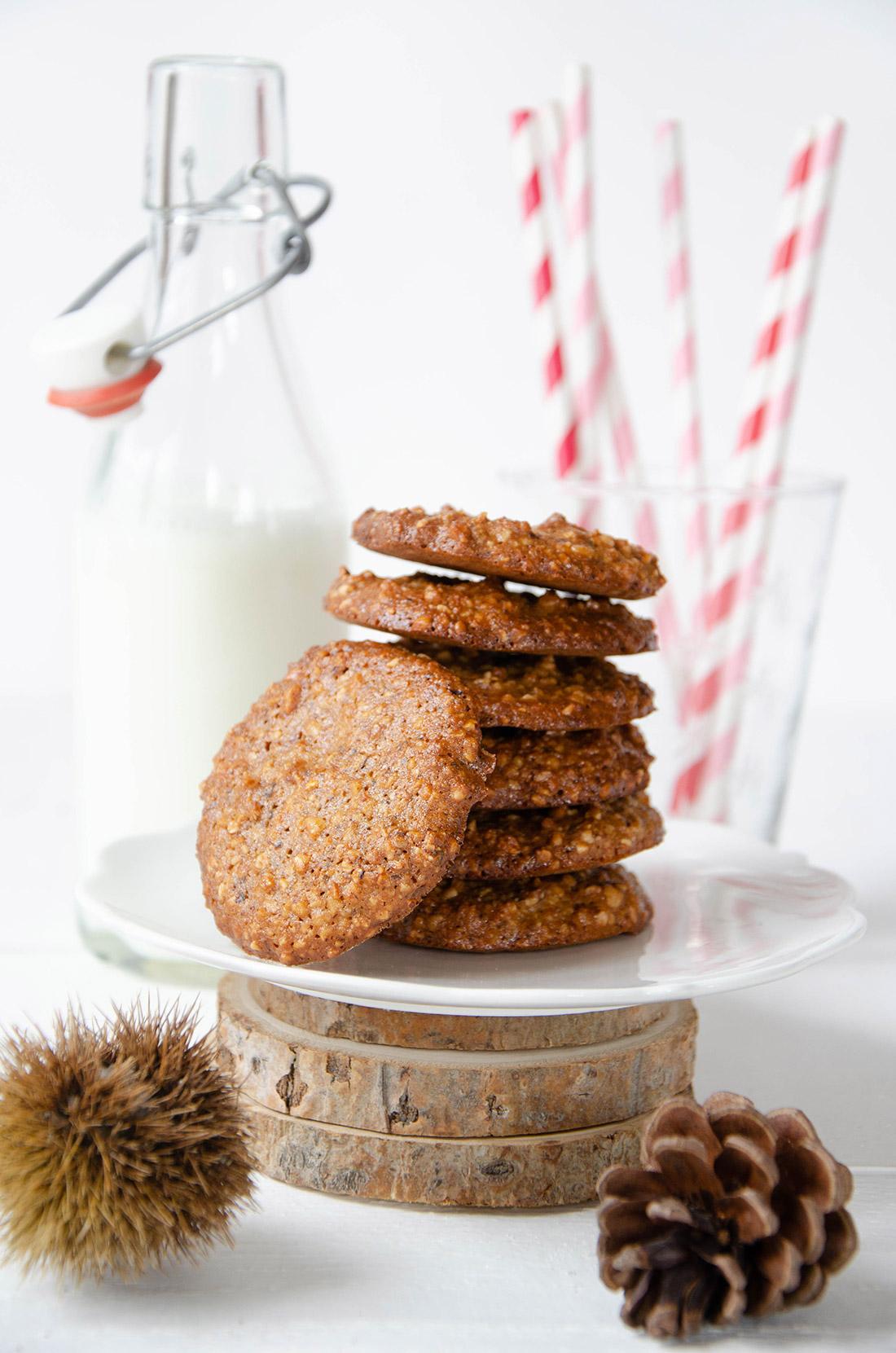 Cookies pâte d'amande sarrasin, une super recette pour le goûter.