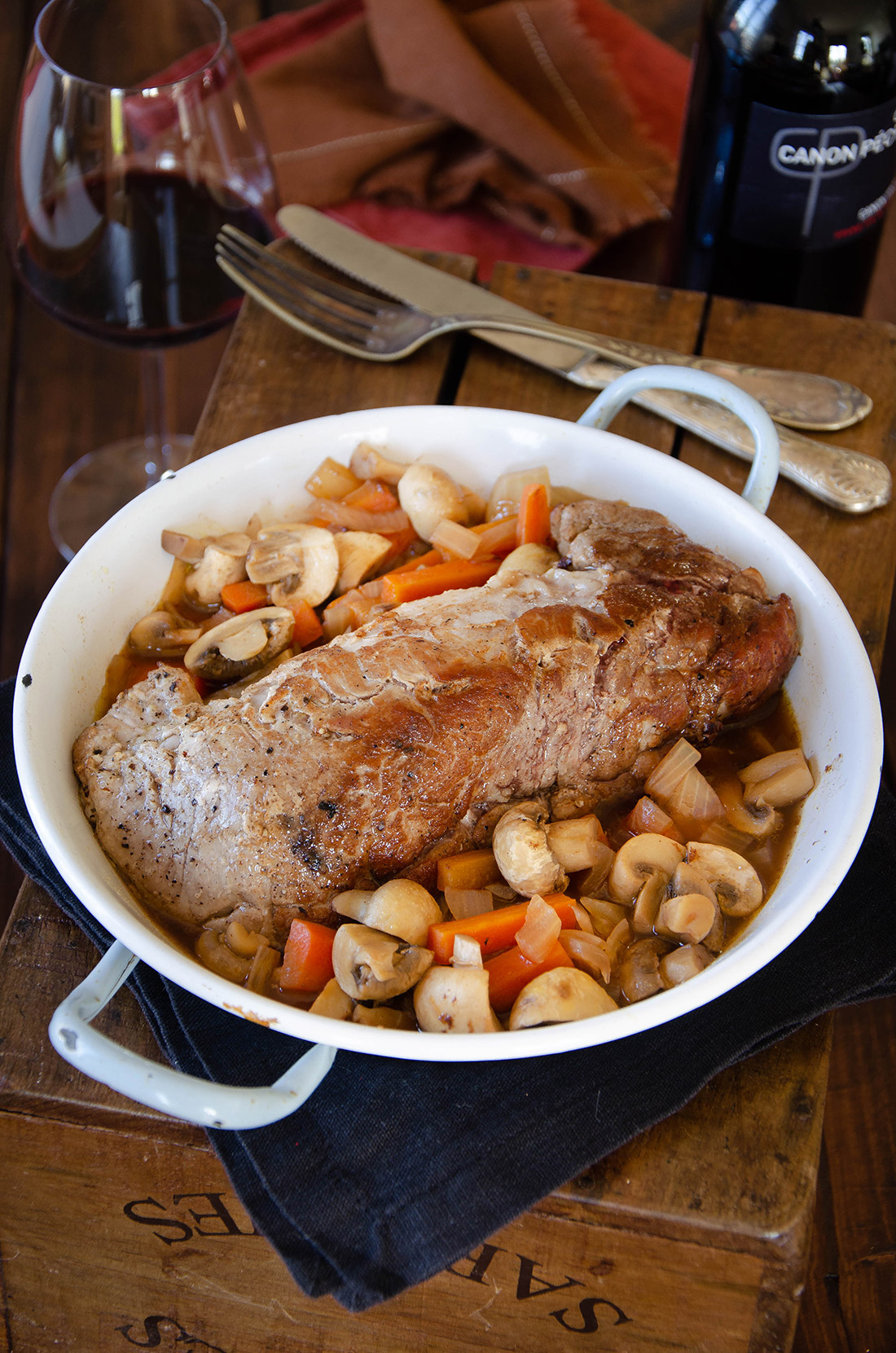 Recette de filet mignon aux champignons, un plat facile à cuisiner