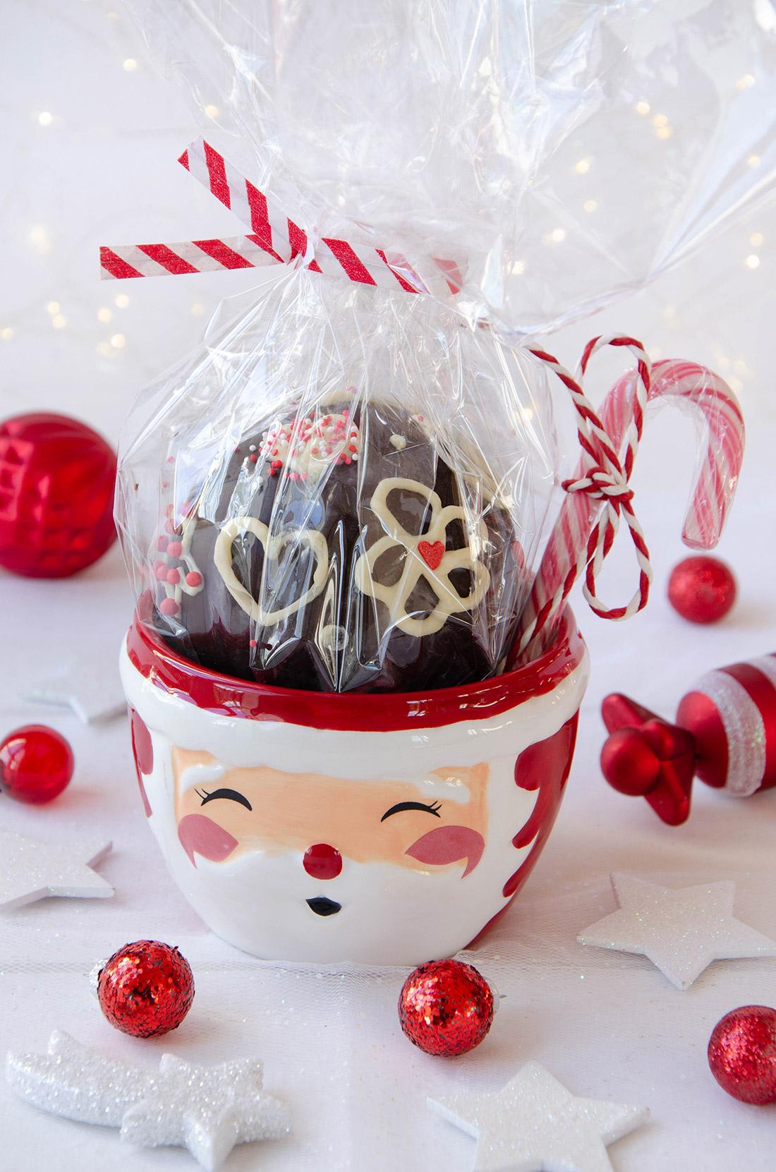 une bombe à chocolat chaud : un délicieux cadeau gourmand facile à faire !