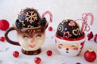 recette de cadeau gourmand : hot chocolate bomb