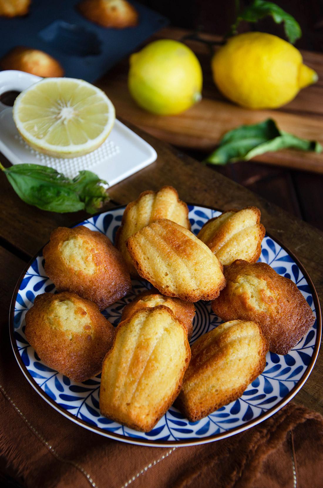 Recette de madeleines à la bergamote riche en saveurs