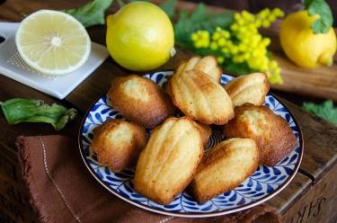 Irrésistible recette de madeleines à la bergamote