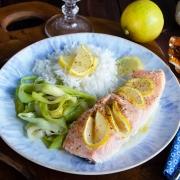 Pavés de saumon érable et citron