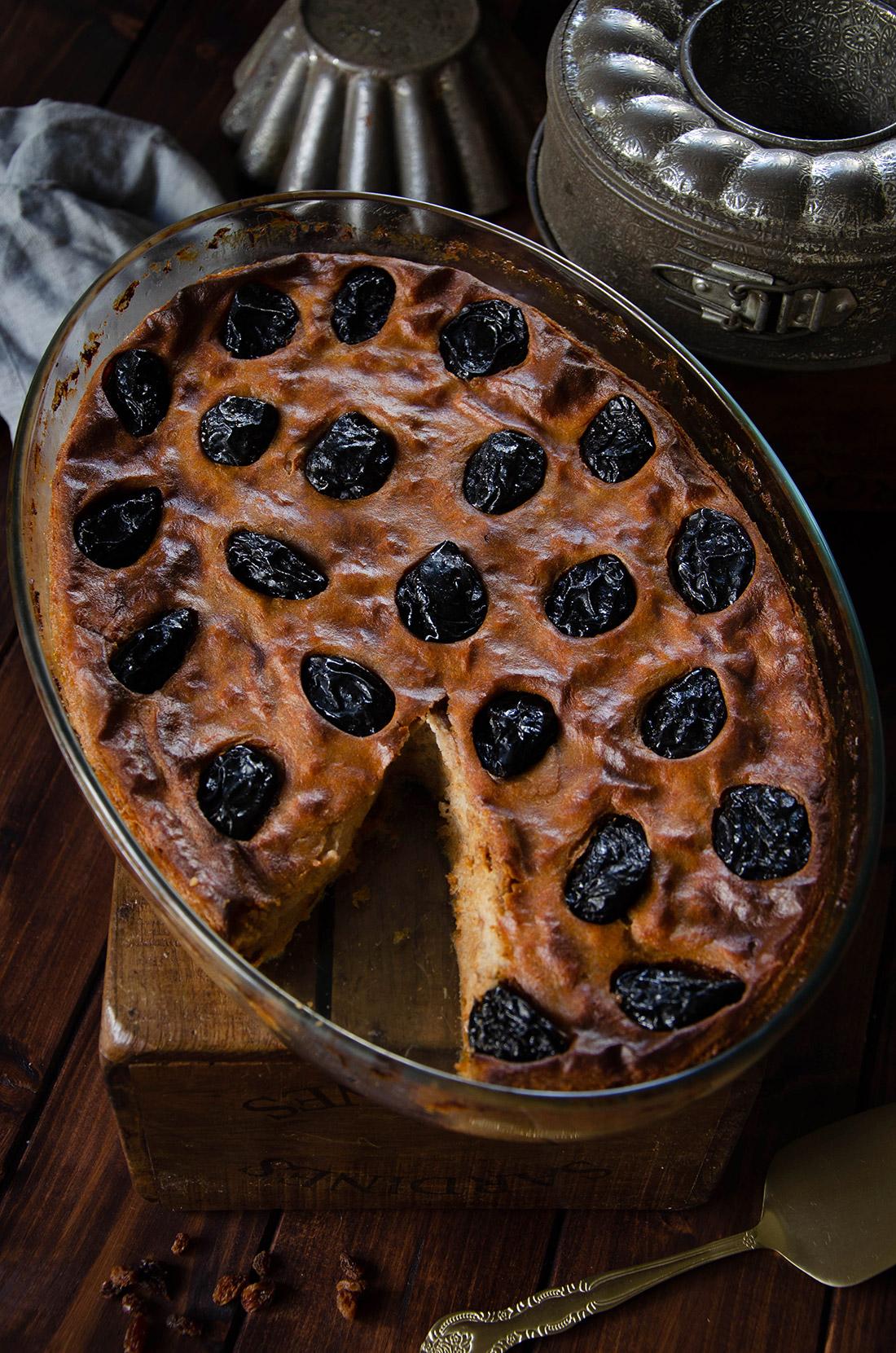 Recette far breton sarrasin pruneaux raisins