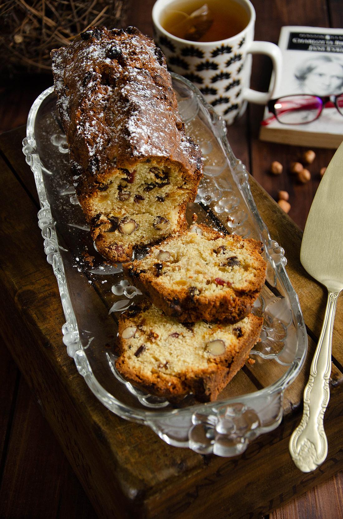 Cake aux fruits secs fait maison