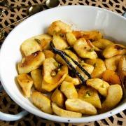 Recette pommes vanille pistaches