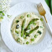 Recette risotto asperges ail des ours