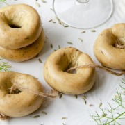 Taralli biscuits apéritifs au fenouil