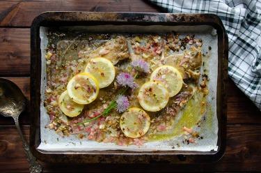 Recette de limande sole au beurre et échalotes