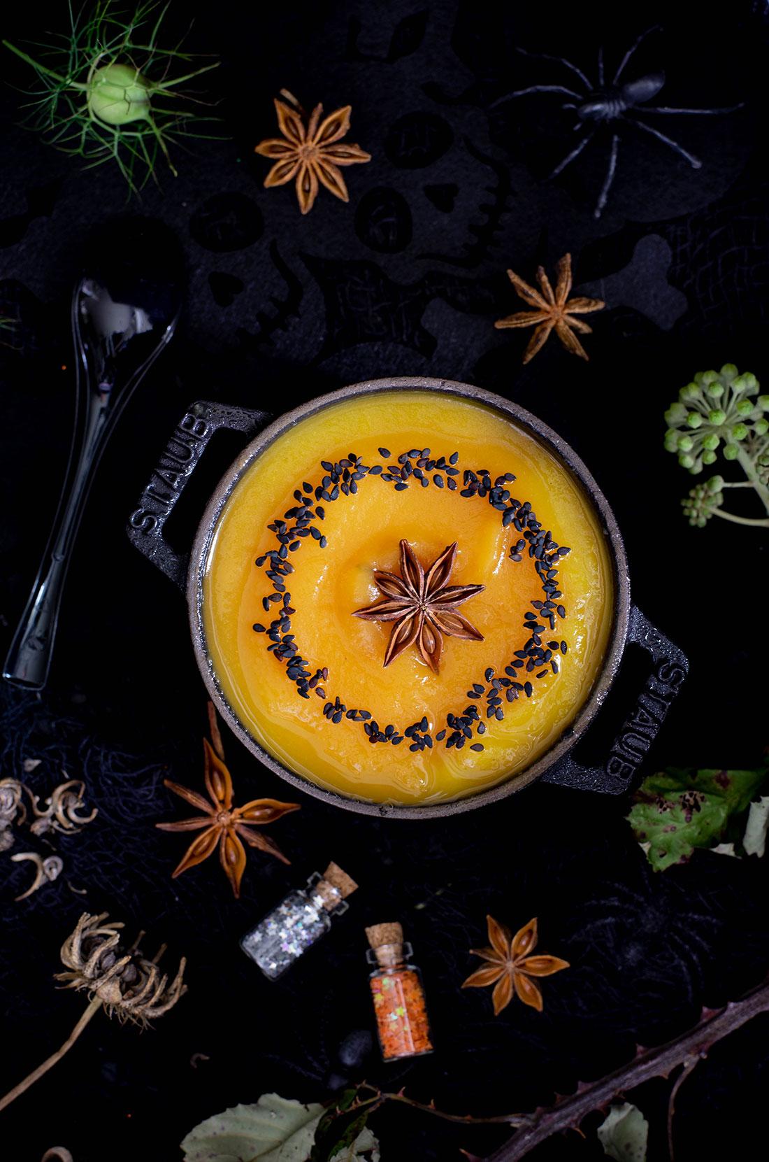 Recette citrouille orange anis étoilé