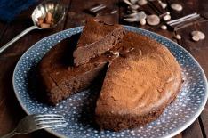 Fondant chocolat et lentilles